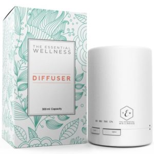Essential Wellness Aromatherapy Ultrasonic Oil Diffuser