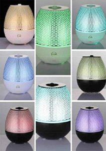 Maya aromatherapy oil diffuser LED lights