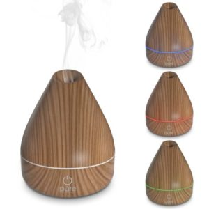 Pure Spa Natural Aromatherapy Oil Diffuser - timber