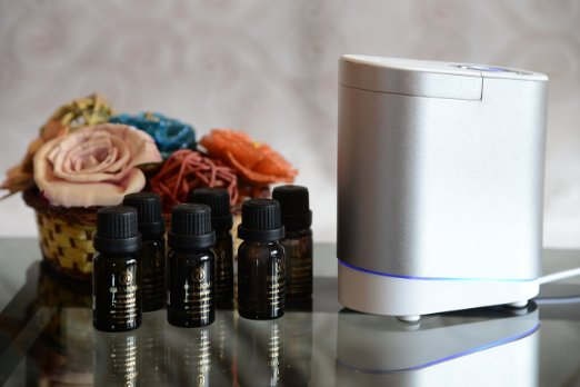 Smiley Daisy Nebulizing Oil Diffuser