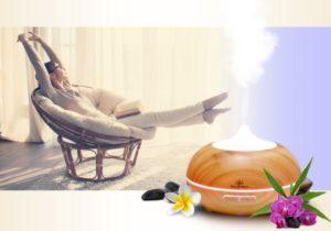 Zen Breeze aromatherapy diffuser