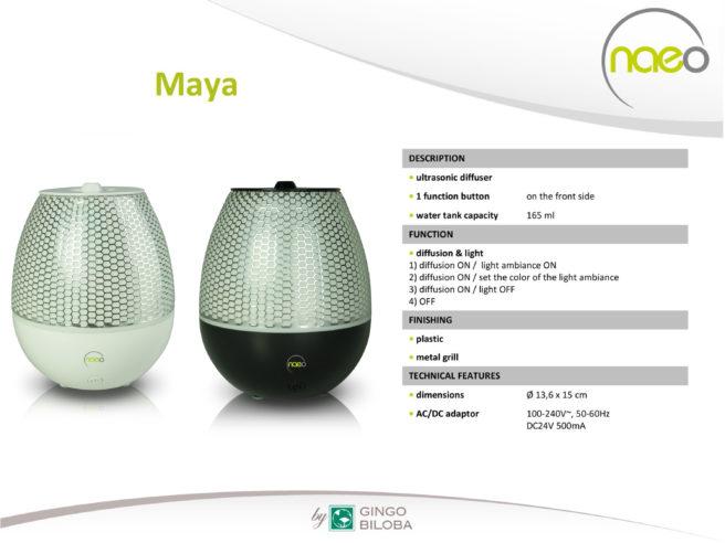 Maya Ultrasonic Aromatherapy Oil Diffuser