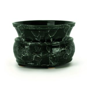 Marble Electric Candle and Wax Tart Warmer - green