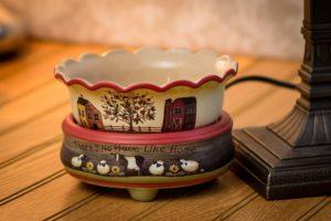 OBI Ceramic Stoneware Electric Candle Warmer