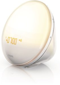 Philips Morning Wake-Up Light Therapy With Colored Sunrise Simulation
