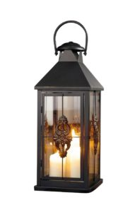 Metal European-style Hanging Candle Lantern