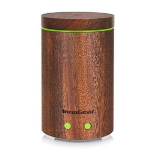InnoGear Real Wood Ultrasonic Essential Oil Diffuser